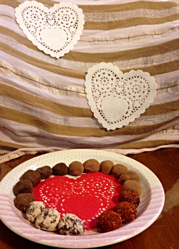 Little Bites of Heaven: Valentine's Day Truffles