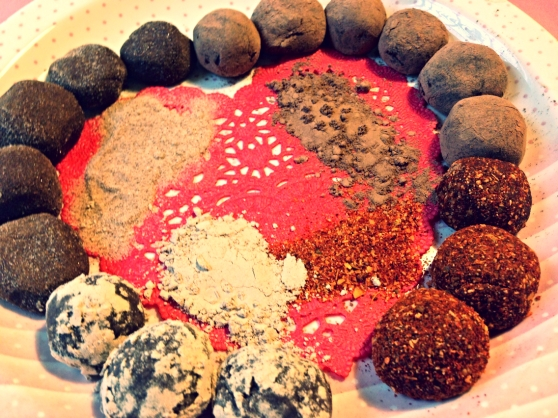 valentine's truffles